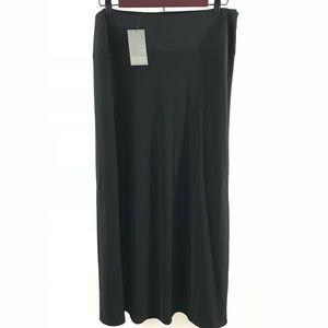 Sigrid Olsen Women's Size 12 Long Black Maxi Skirt